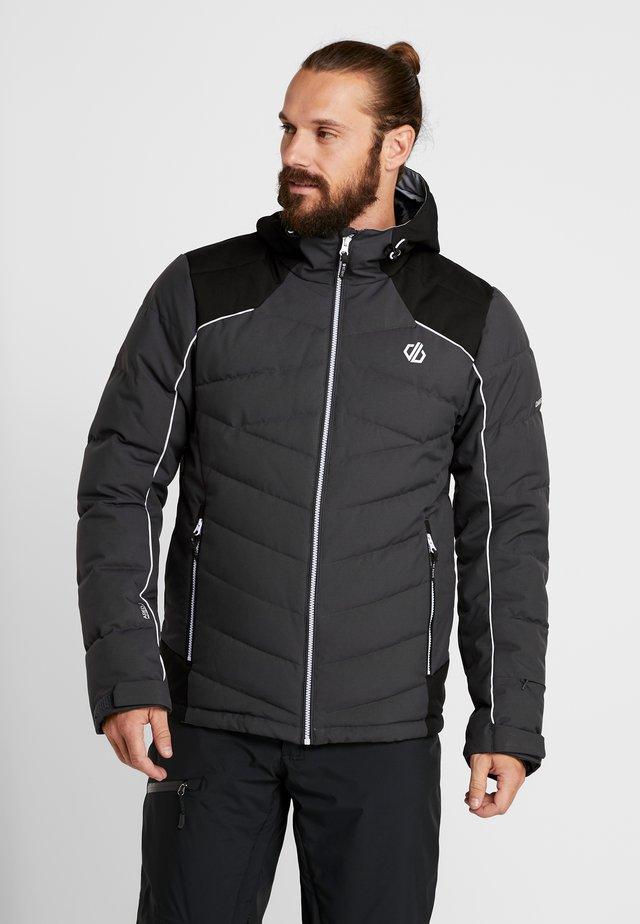 MAXIM JACKET - Veste de ski - ebony/black