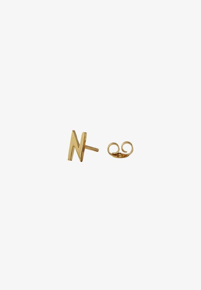 EARRING STUDS ARCHETYPES - N - Earrings - gold