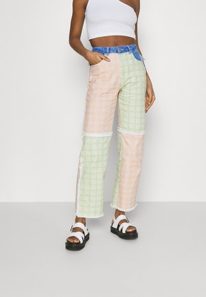 PITCH  - Straight leg jeans - multicolor