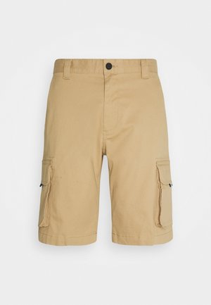 WASHED CARGO - Szorty - classic khaki