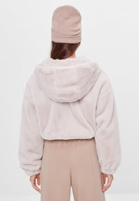 Bershka - Fleece jacket - beige - 2