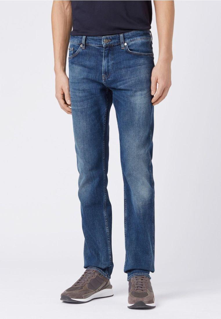 BOSS - DELAWARE Slim Fit - Slim fit jeans - dark blue