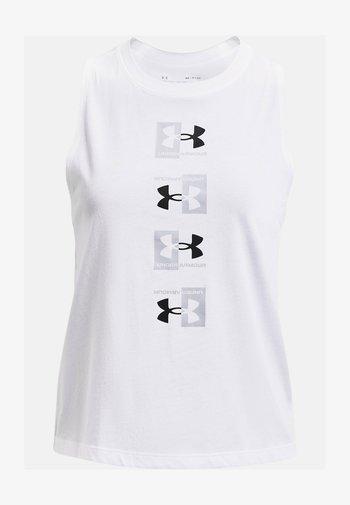 LIVE UA REPEAT MUSCLE  - Sports shirt - white