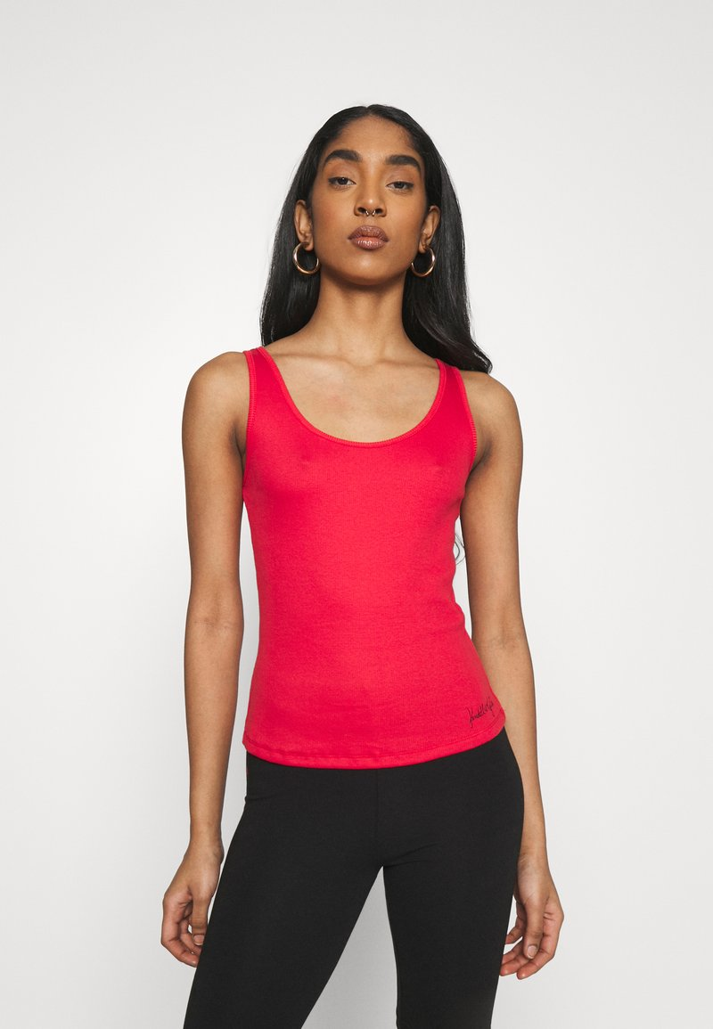 KENDALL + KYLIE - BASIC SLEEVELESS - Top - red