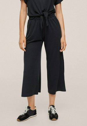 Trousers - antraciet