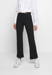 Soaked in Luxury - GENEVIEVE PANTS - Trousers - black - 0