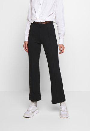 GENEVIEVE PANTS - Trousers - black