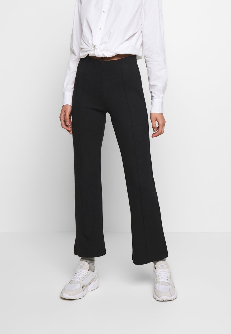 Soaked in Luxury - GENEVIEVE PANTS - Trousers - black