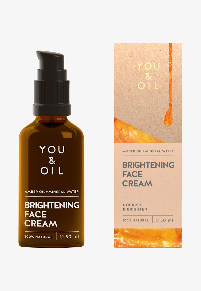 YOU & OIL - BRIGHTENING FACE CREAM   - Face cream - -
