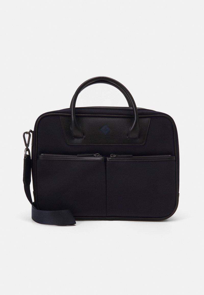Hackett London - GATES SINGLE DOC - Across body bag - navy/black