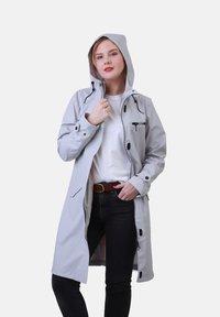Dingy Rhythm Of The Rain - Waterproof jacket - stein - 2