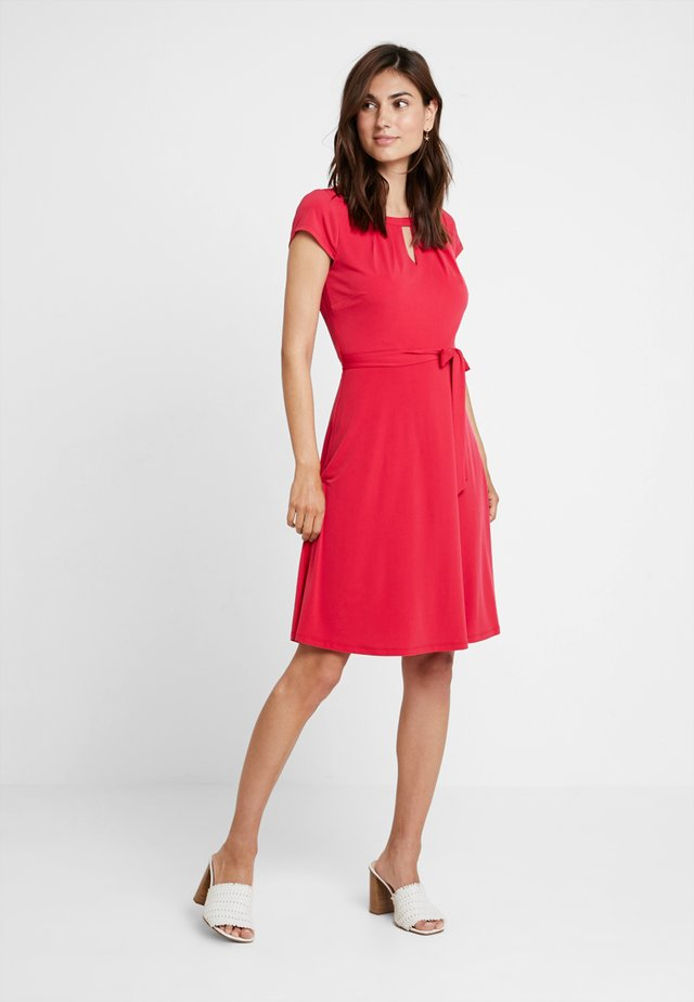 Jersey dress - hibiskus