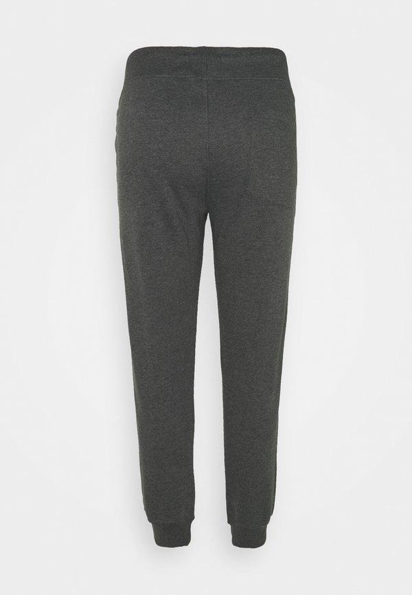 Pier One Spodnie treningowe - mottled dark grey/ciemnoszary melanż Odzież Męska UQAK