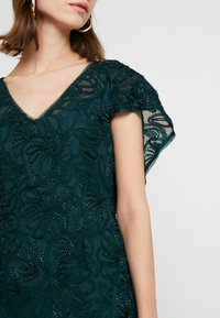 Adrianna Papell - SOUTACHE CAPE GOWN - Occasion wear - dusty emerald - 7
