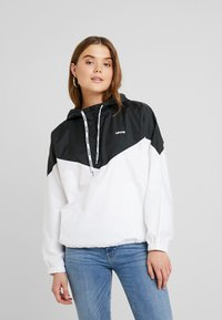 Levi's® - KIMORA JACKET - Windbreaker - meteorite/bright white - 0