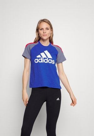 TEE - Print T-shirt - bold blue
