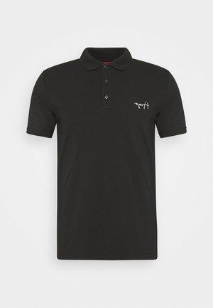 DURO - Polo shirt - black