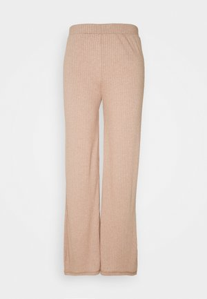 PANT LOUNGE - Tracksuit bottoms - warm taupe melange