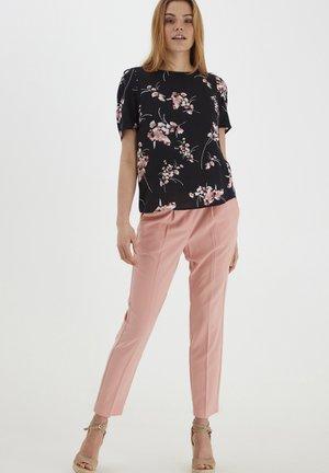 Trousers - rose tan
