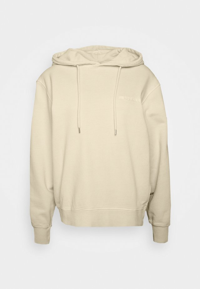 BULKY HOODIE - Jersey con capucha - beige