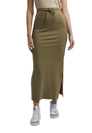 Maxi skirt - light khaki