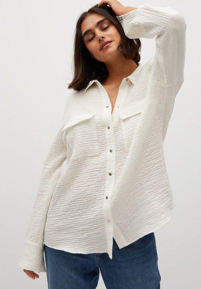 SOBRE - Skjorte - weiß