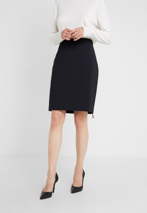 THE PENCIL SKIRT - Pencil skirt - navy
