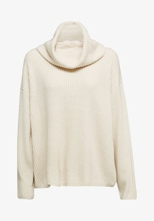 MIT KASCHMIR - Hoodie - cream beige