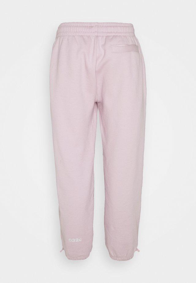 REFLECTIVE LOGO - Pantalon de survêtement - grey purple