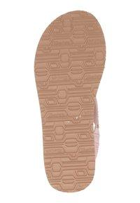 Skechers - MEDITATION - T-bar sandals - rose goud - 3