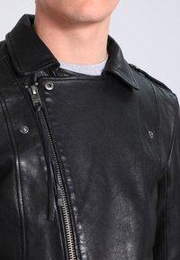 Tigha - ETHAN - Leather jacket - black - 3