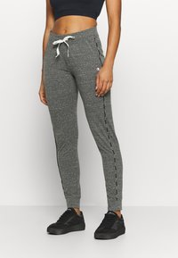 Champion - CUFFED PANTS - Tracksuit bottoms - mottled grey - 0