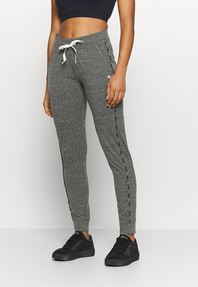 Champion - CUFFED PANTS - Tracksuit bottoms - mottled grey
