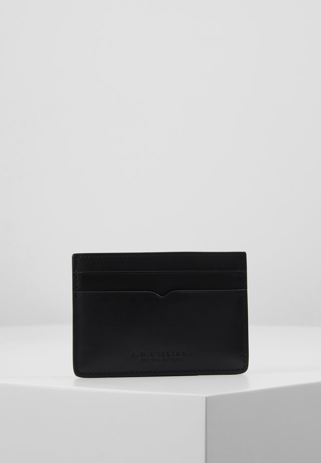 CITY CREDIT CARD HOLDER - Portfel - black