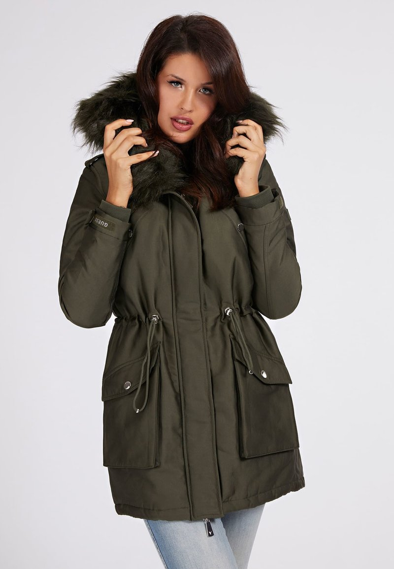 Guess - Winter coat - grün