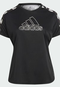 adidas Performance - OWN THE RUN CELEBRATION T-SHIRT (PLUS SIZE) - T-shirt print - black - 7