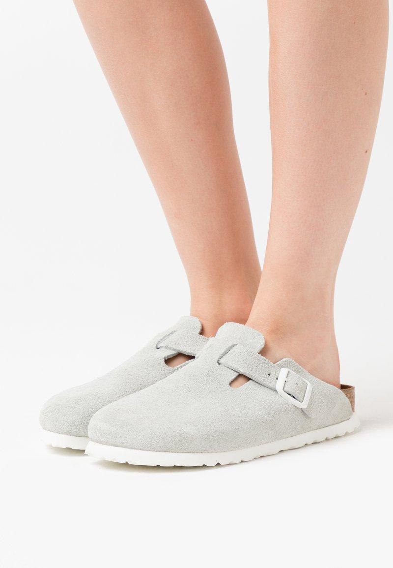 Birkenstock - BOSTON  - Slippers - white