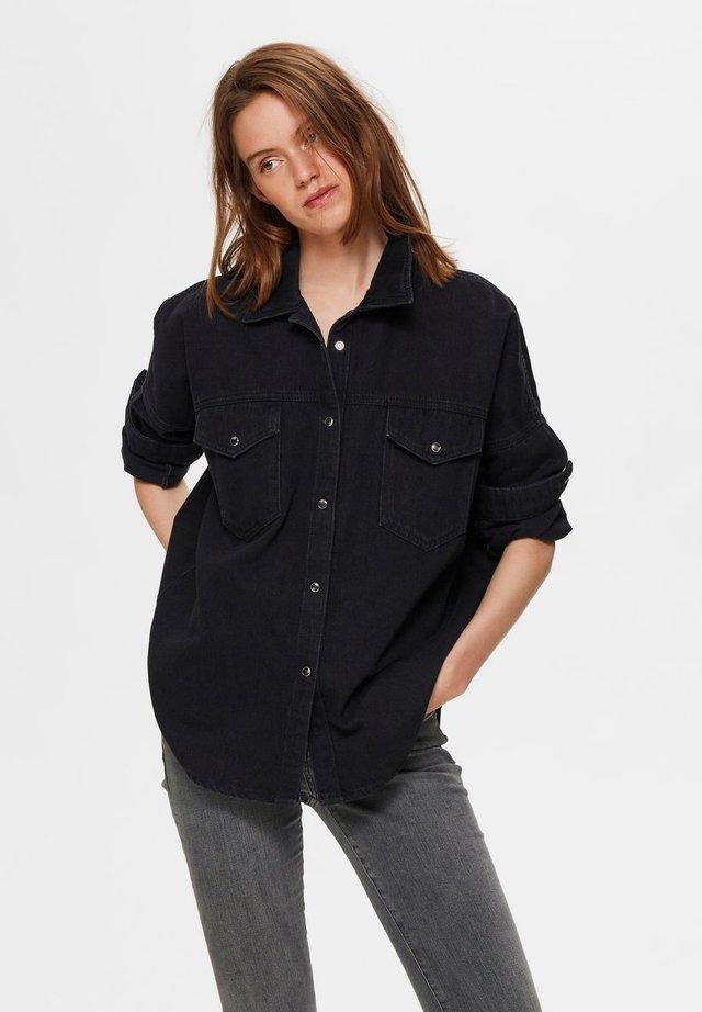 Camicia - black denim