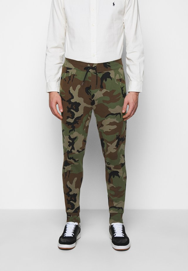 Pantaloni sportivi - olive