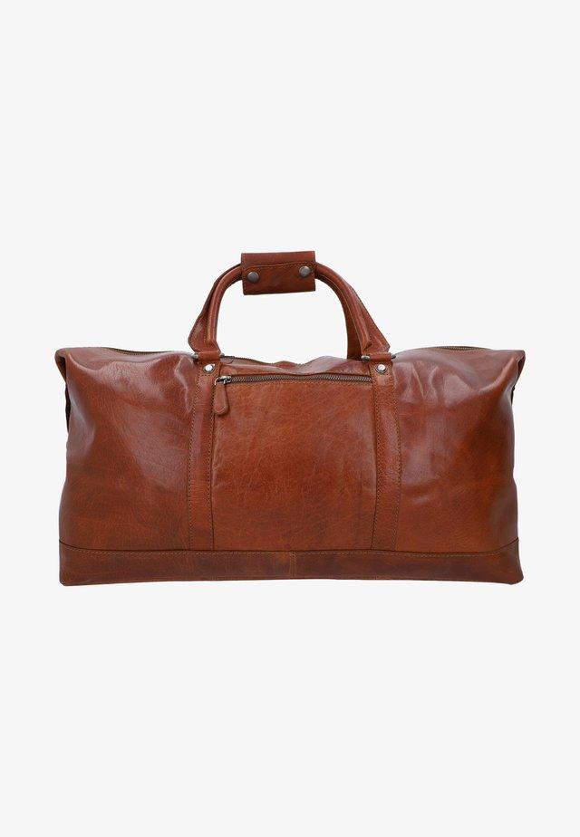 RUBEN - Weekend bag - honigbraun