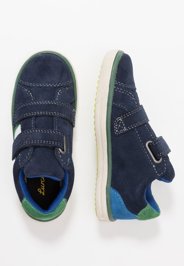 MINO-TEX - Sneakers basse - navy/grey
