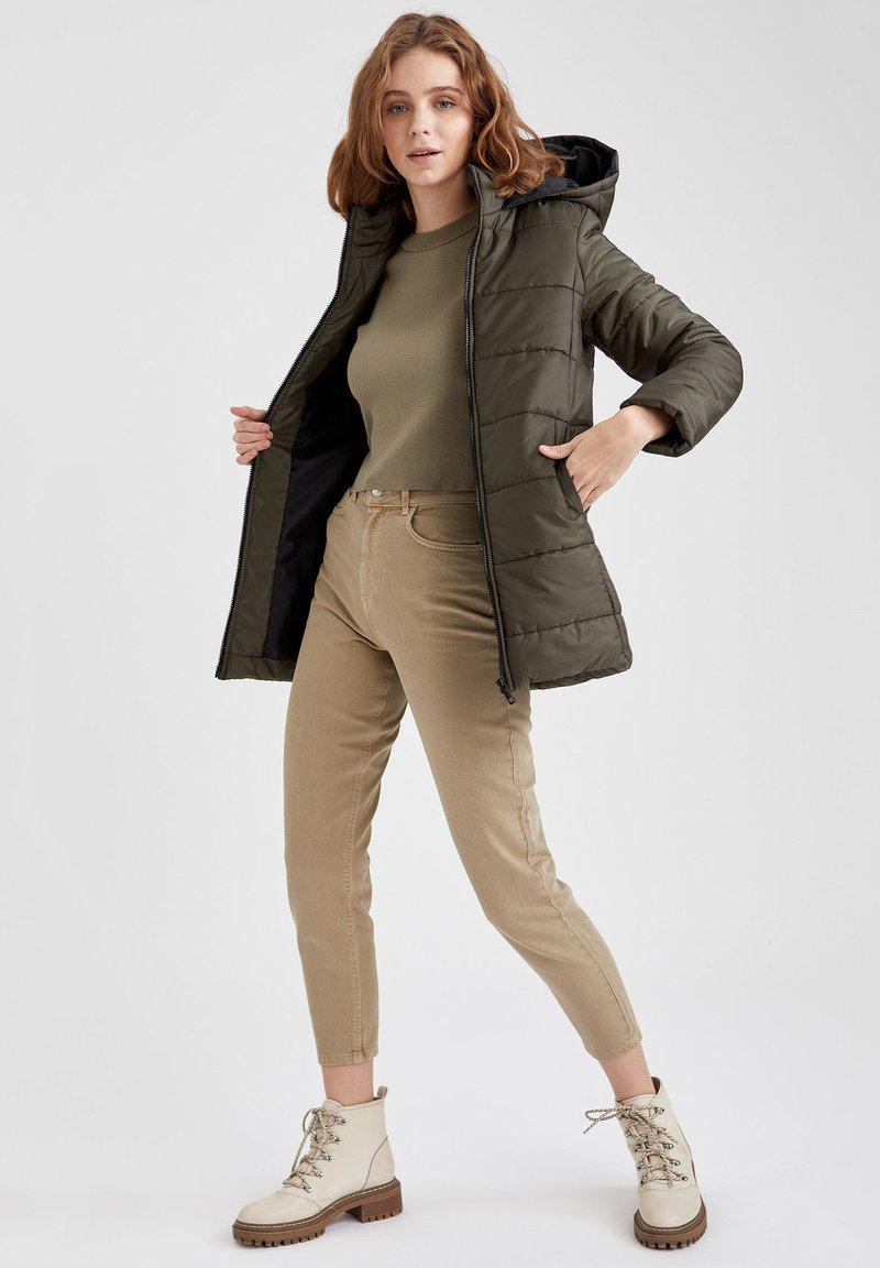 DeFacto - Winter coat - khaki