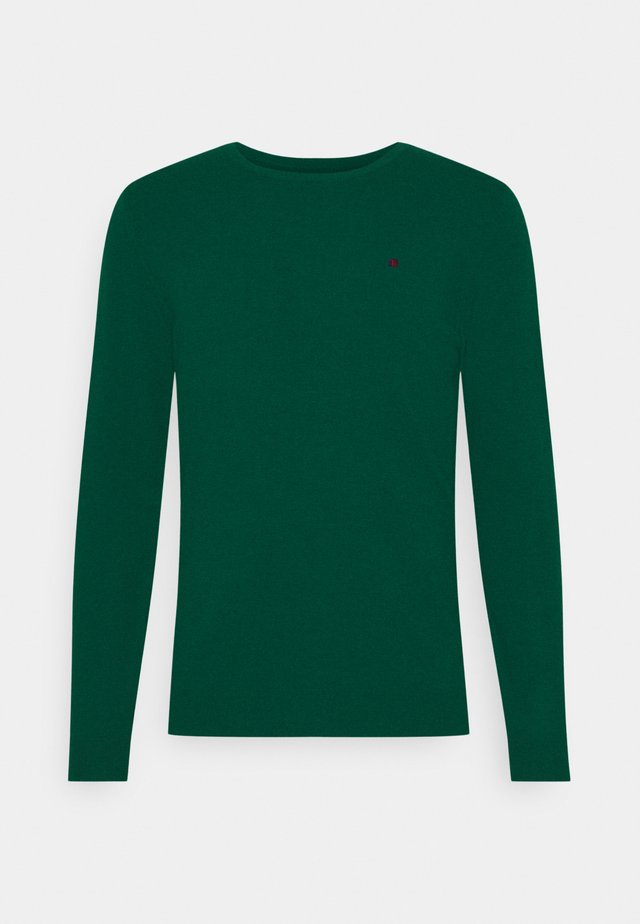 POKI - Jumper - dark jade green
