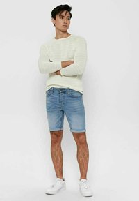 Only & Sons - Jeansshorts - blue denim - 1