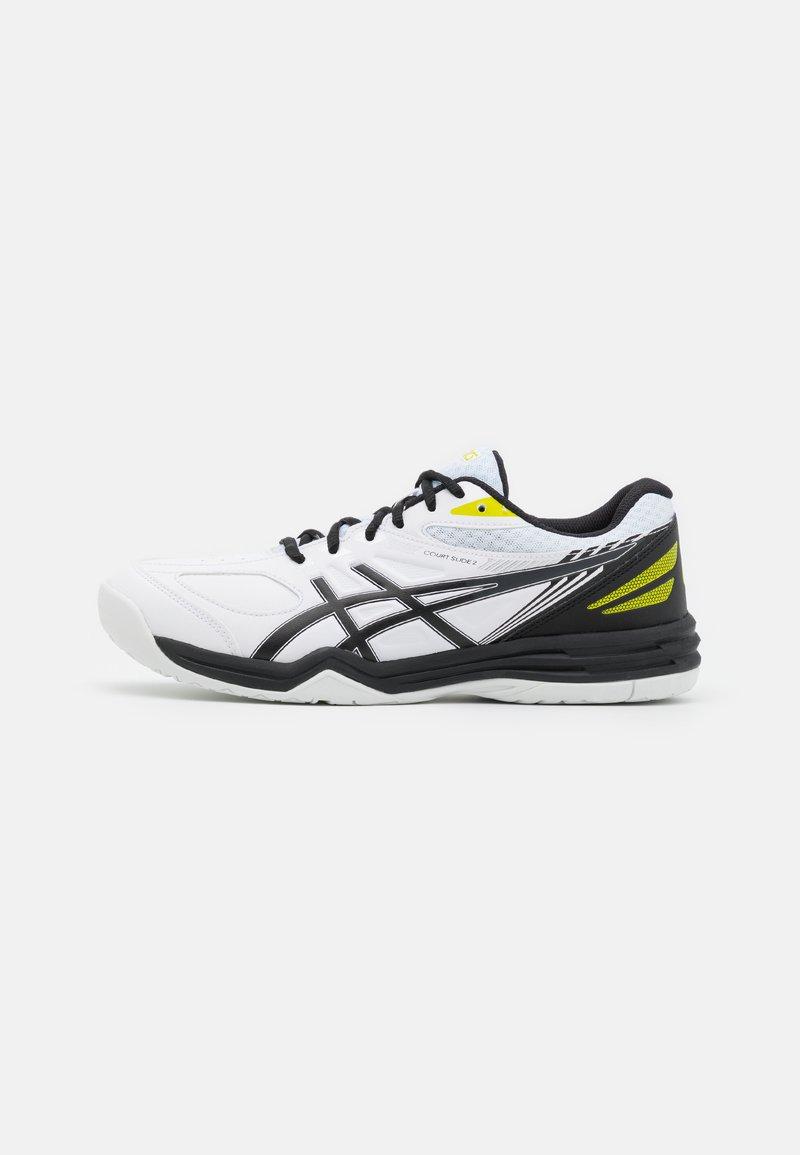 ASICS - COURT SLIDE 2 - Tenisové boty na všechny povrchy - white/black