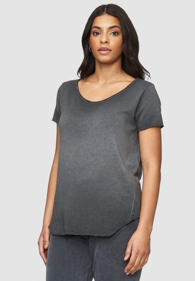 ARABELLA - Basic T-shirt - black noir