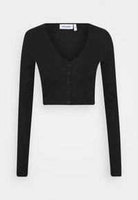 Weekday - TEEGAN CARDIGAN - Vest - black - 3