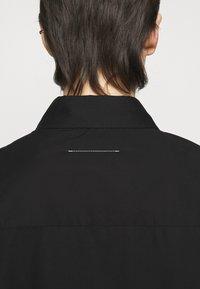 MM6 Maison Margiela - Button-down blouse - black - 5