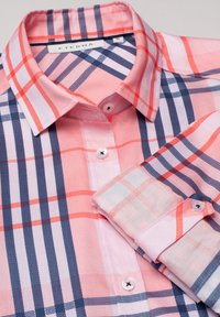Eterna - Button-down blouse - rosa/blau - 4