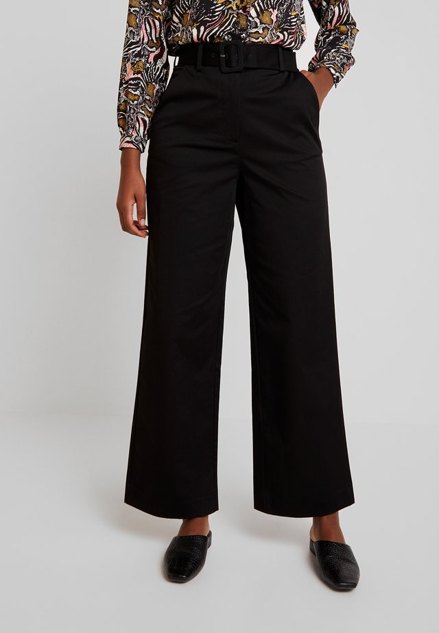 INDRA PANTS - Pantaloni - black